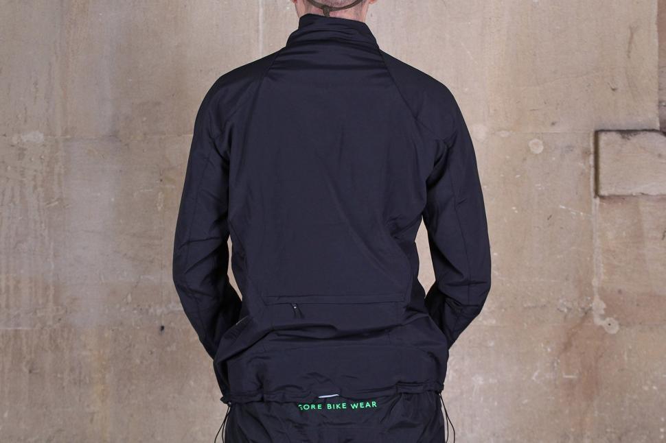 Gore Bike Wear Mens Power Trail Windstopper Soft Shell Jacket - back.jpg