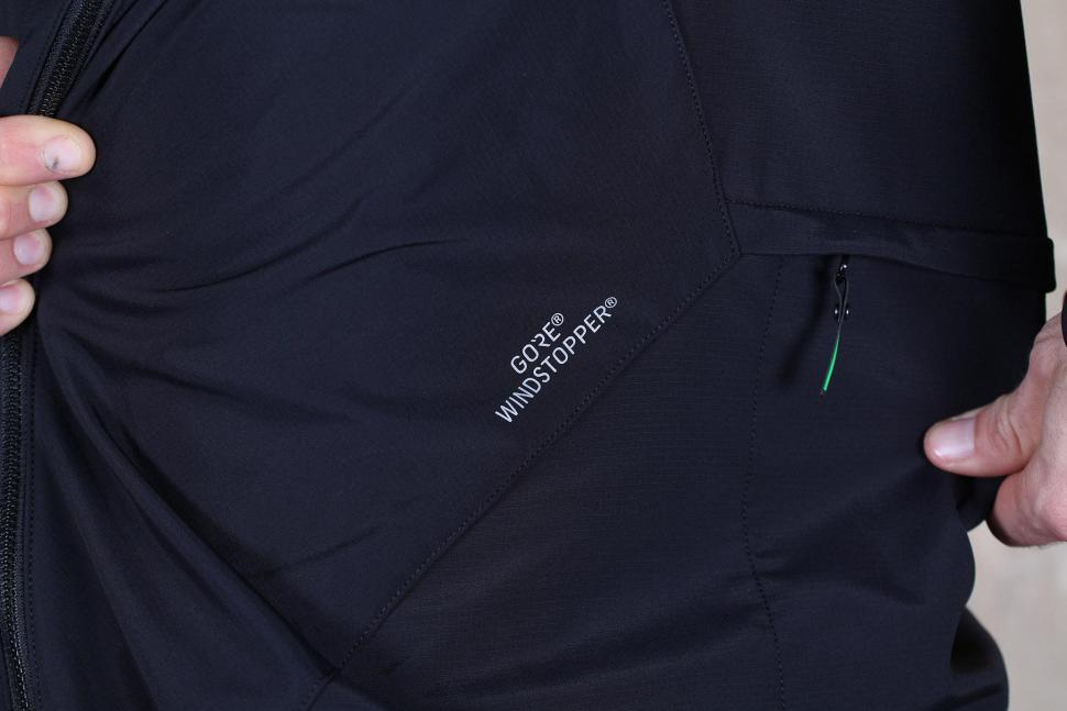 Gore Bike Wear Mens Power Trail Windstopper Soft Shell Jacket - logo.jpg