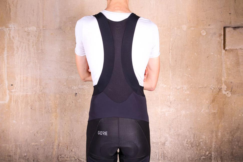 Gore C7 Partial Windstoper Pro Bib Tights - straps back.jpg
