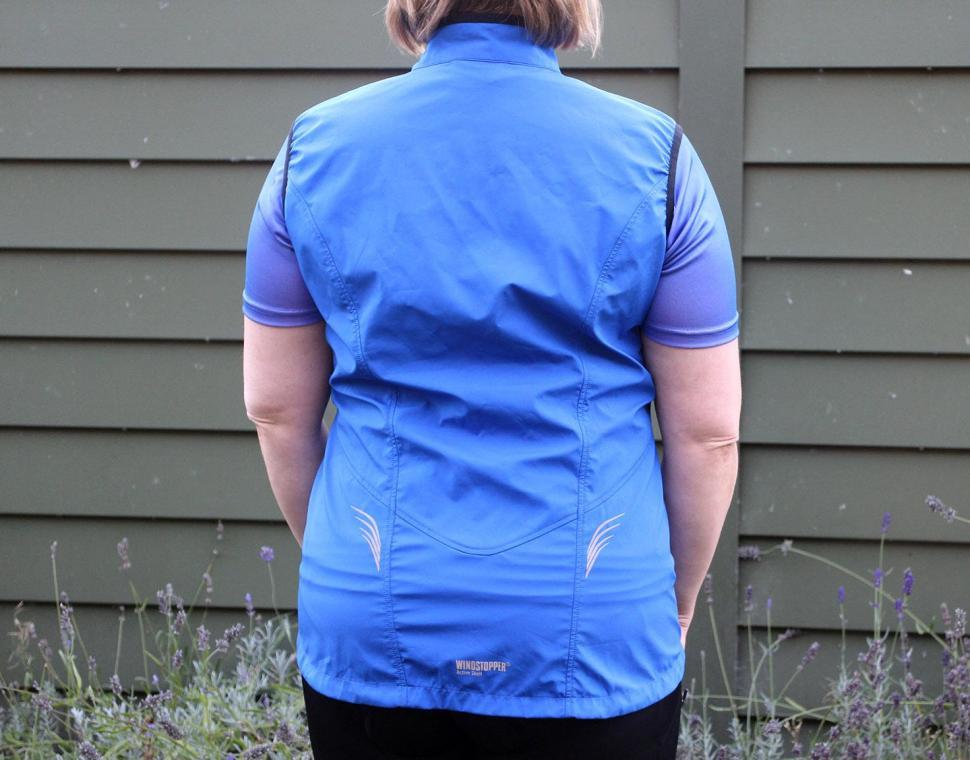 Gore Element Lady Windstopper Active Shell Vest - back.jpg