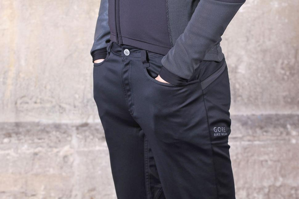 Gore Element Urban Windstopper Soft Shell Pants - pockets.jpg