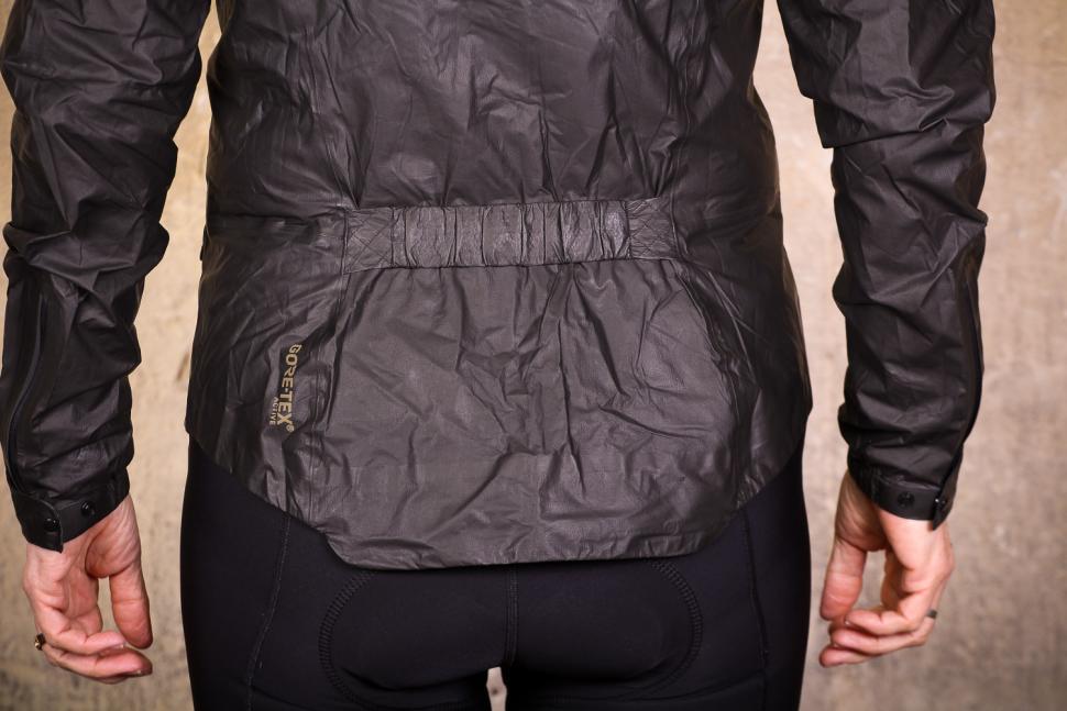 Gore One Power Lady GTX Shakedry Bike Jacket - back detail.jpg