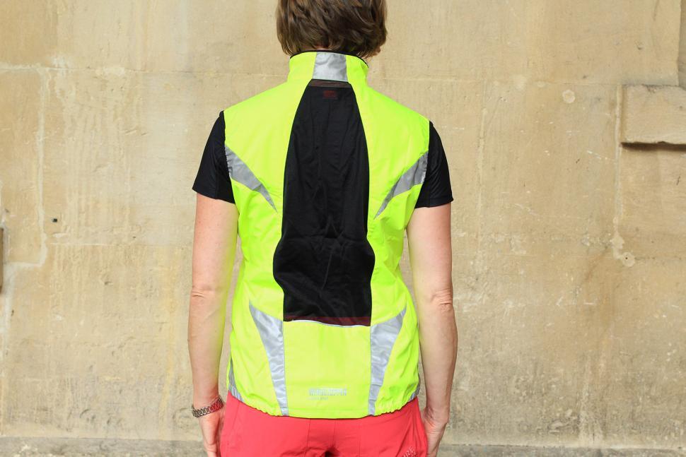 Gore Visibility Lady WIndstopper Active Shell Vest - back.jpg