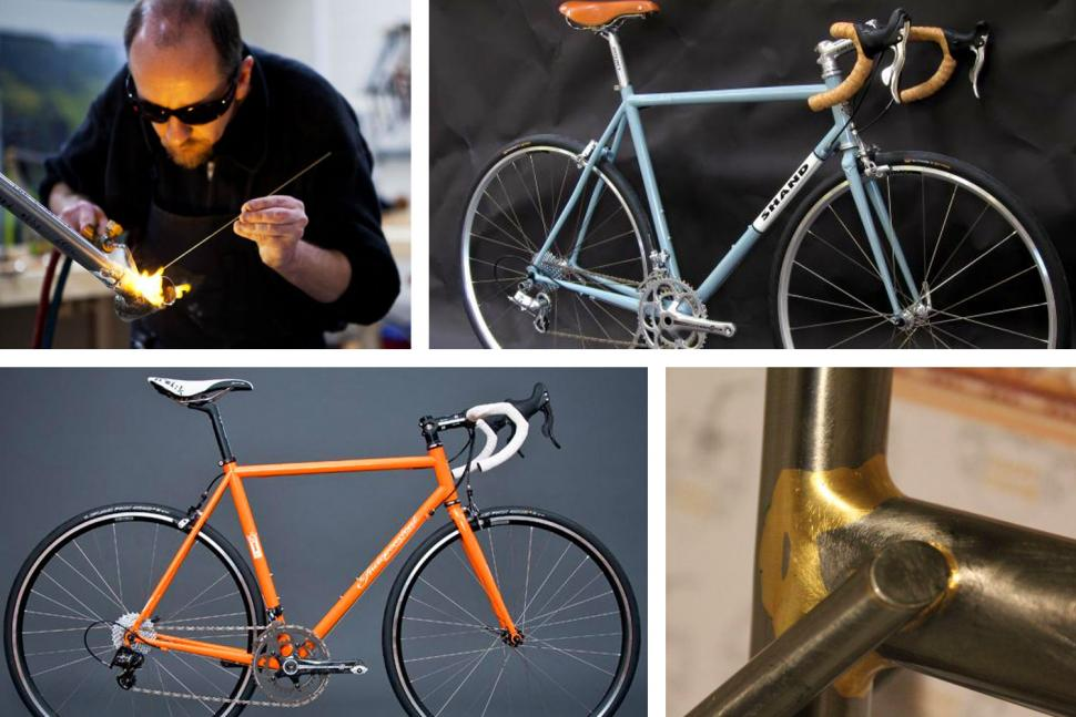 Great custom handbuilt frames — from makers who can craft