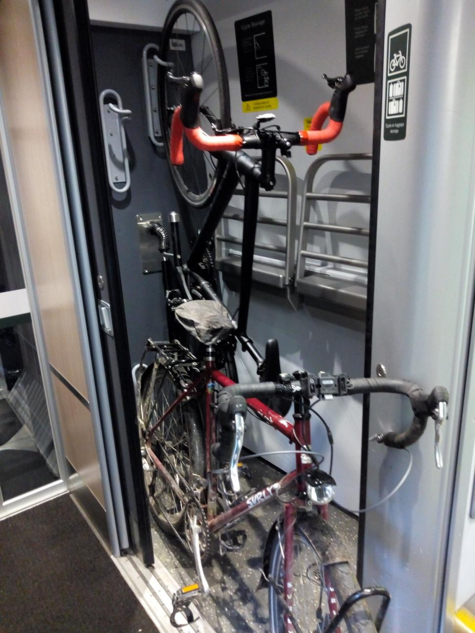 GWR bike storage (picture courtesy Sam Jones, Cycling UK)