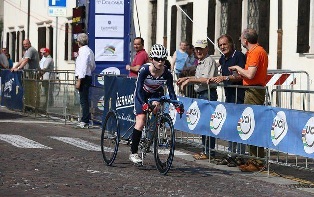 Hannah Dines at UCI Para-cycling World Cup in Italy 2015 (copyright Britishcycling.org_.uk).jpg