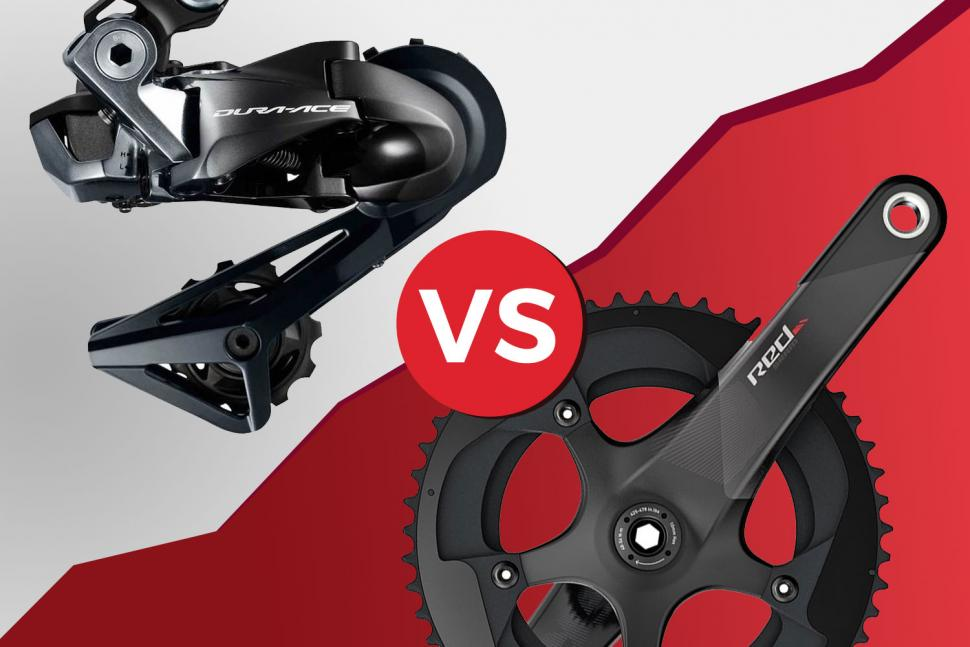 Head to head Shimano Dura-Ace R9150 Di2 v SRAM Red eTap Sept 2018