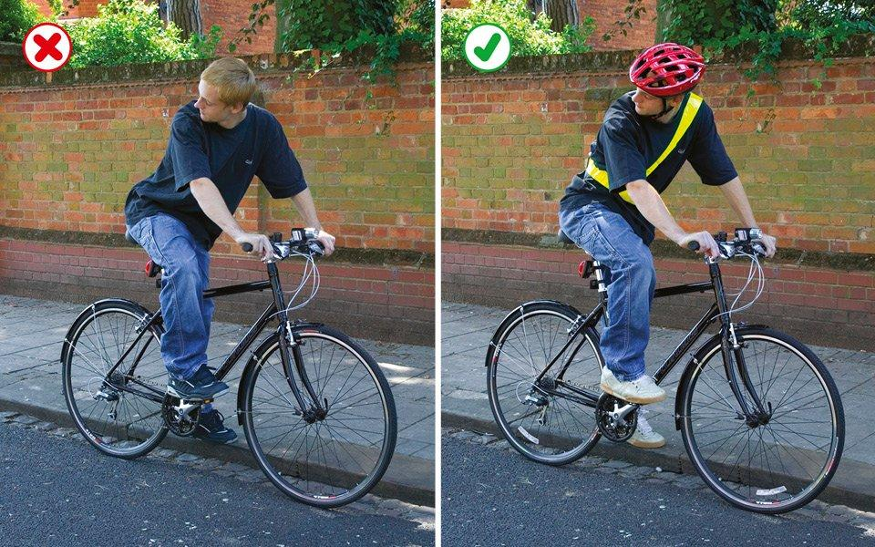 Highway Code cycle clothing advice