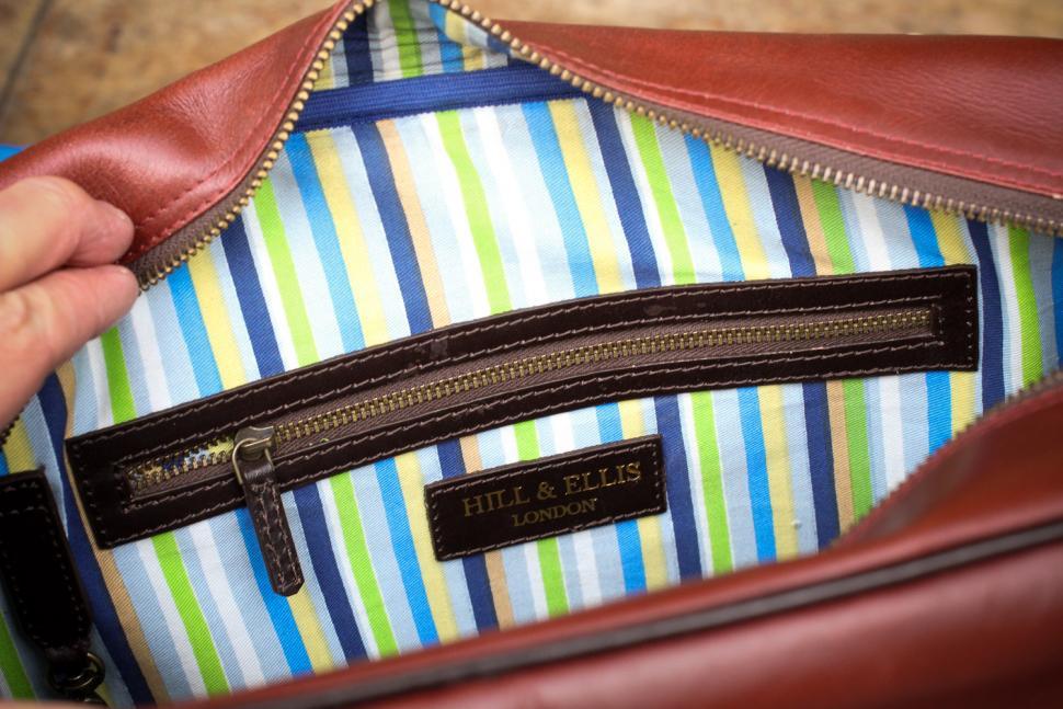 Hill & Ellis Duke Bike Bag - inside pocket.jpg