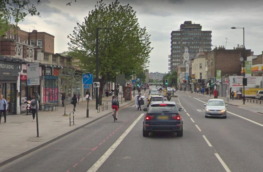Holloway Road (via StreetView)