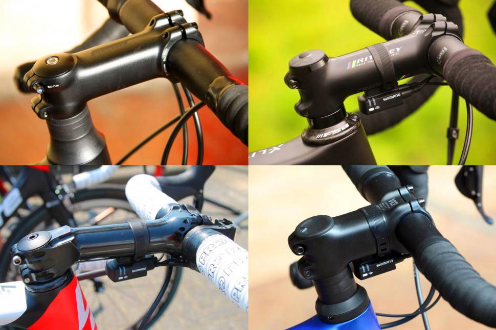 Professional Bicycle Handlebar Stem Riser 6 Degree for Mountain Road Bike