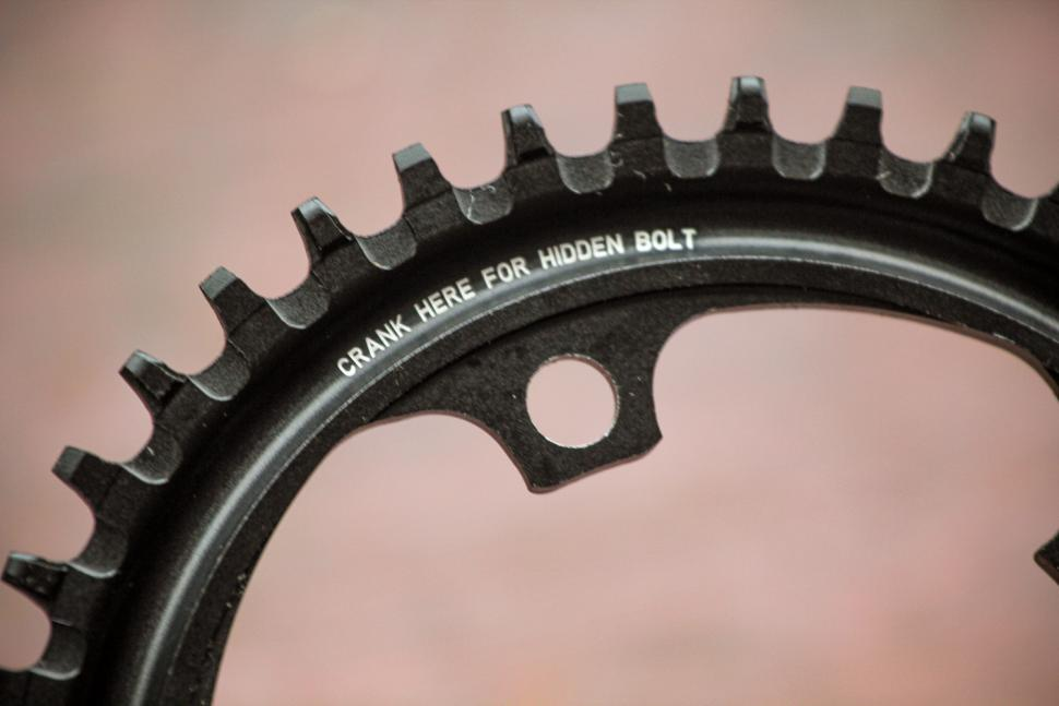 How to fit a CX1 chainring 07