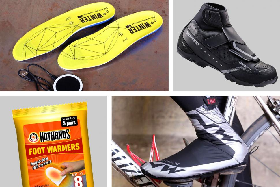 How to keep your feet warm while cycling through the winter