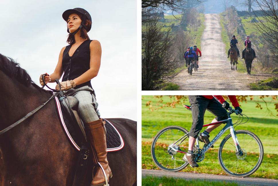 How to pass horse riders safely on your bike Dec 2018