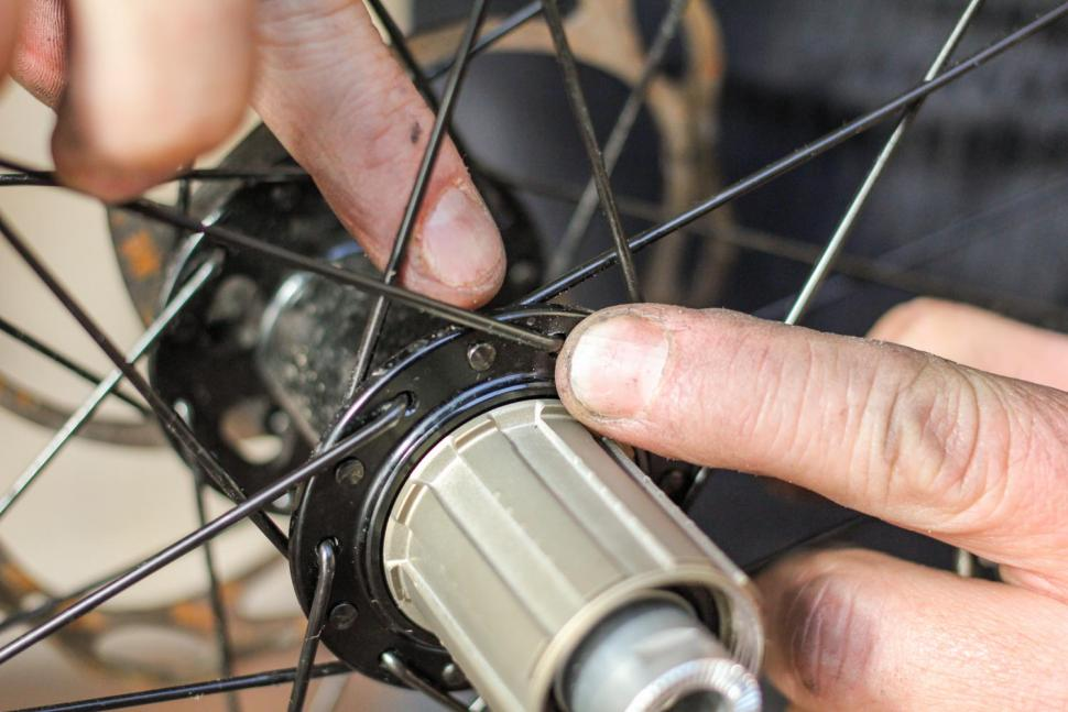 How to replace a spoke 07