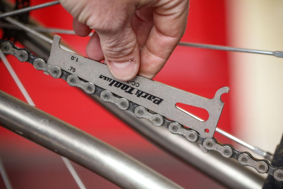How to change your chain - measure