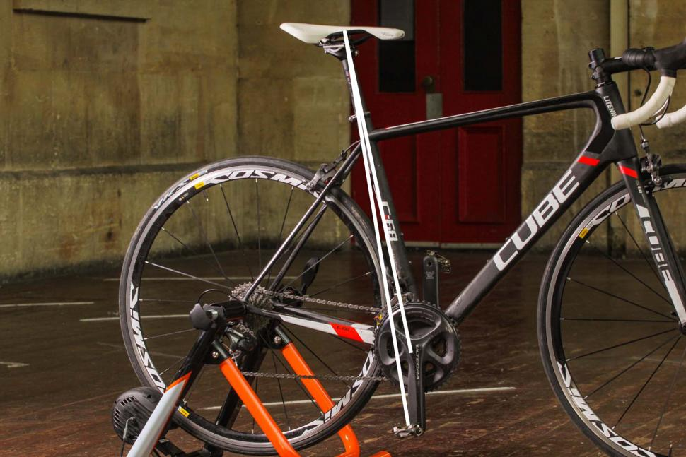 How to set your saddle height 03