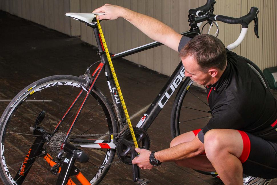 How to set your saddle height 04