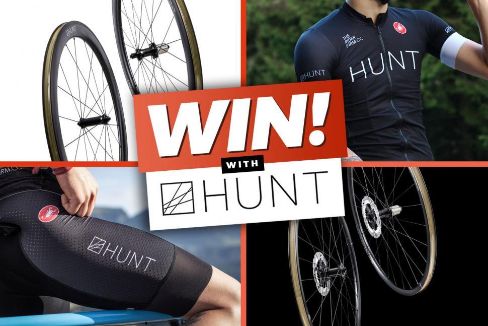 Winners announced for Hunt Bike Wheels and Castelli Kit