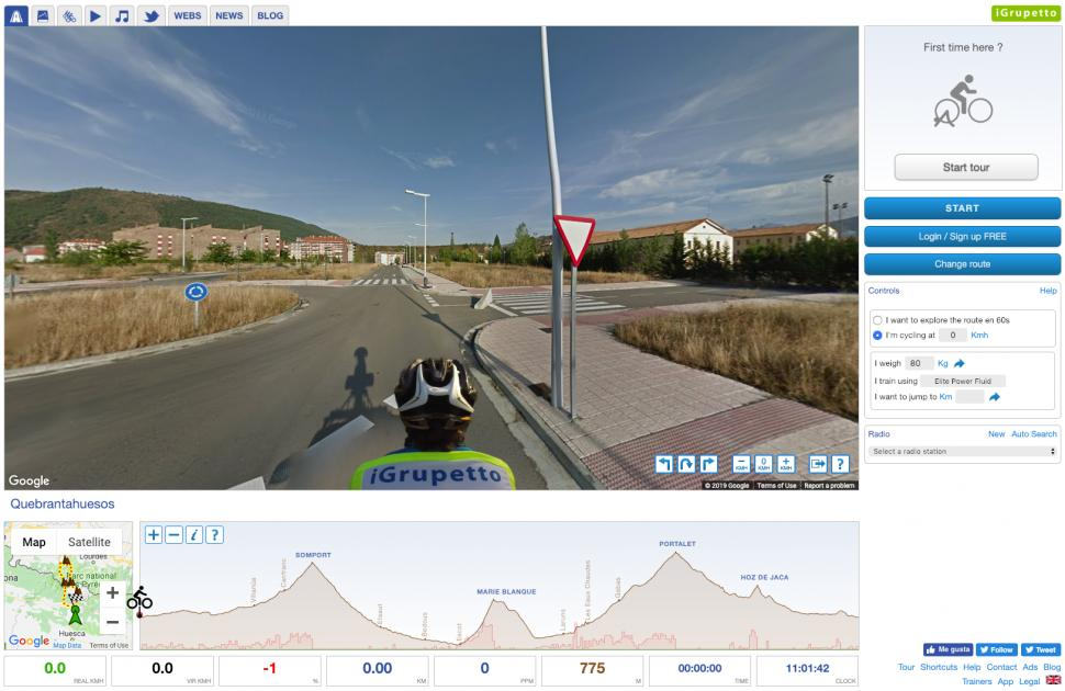 615f4f176 Tell me more: Here's another app that offers virtual rides from around the  world, including the Alps and Pyrenees, so if you want stunning landscapes  to ...