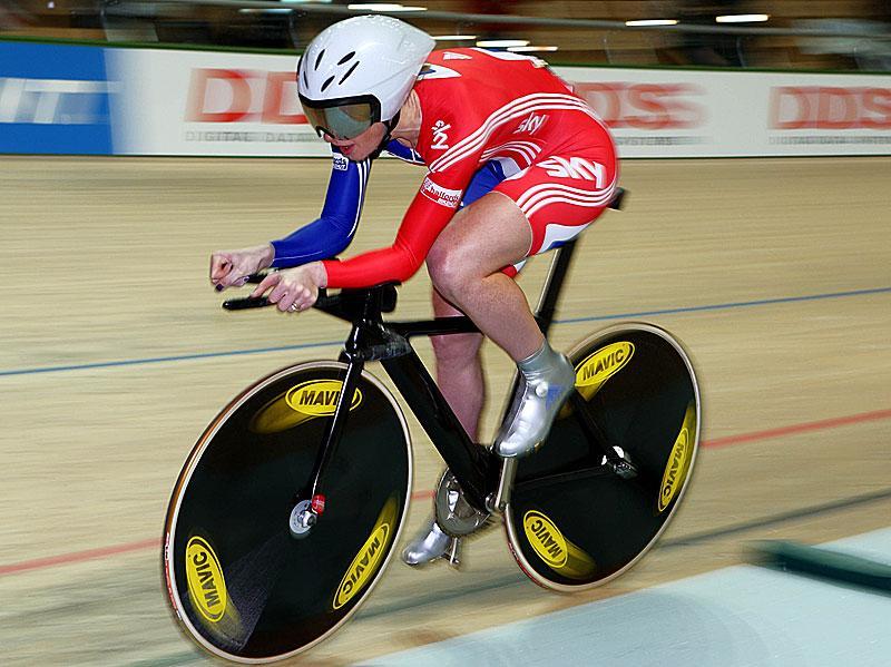 Wendy Houvenaghel world track champs 09 © Photosport Intl