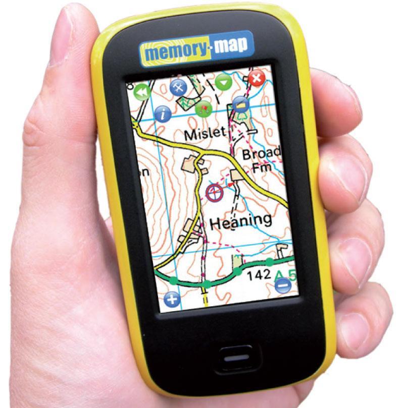 Memory Map Adventurer 2800 GPS