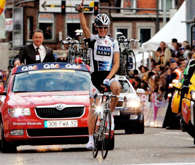 Andy Schleck wins LBL 2009 © Photosport international.jpg