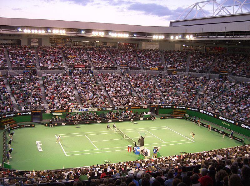 Australian Open Tennis (picture pfctdayelise, Wikimedia Commons).JPG
