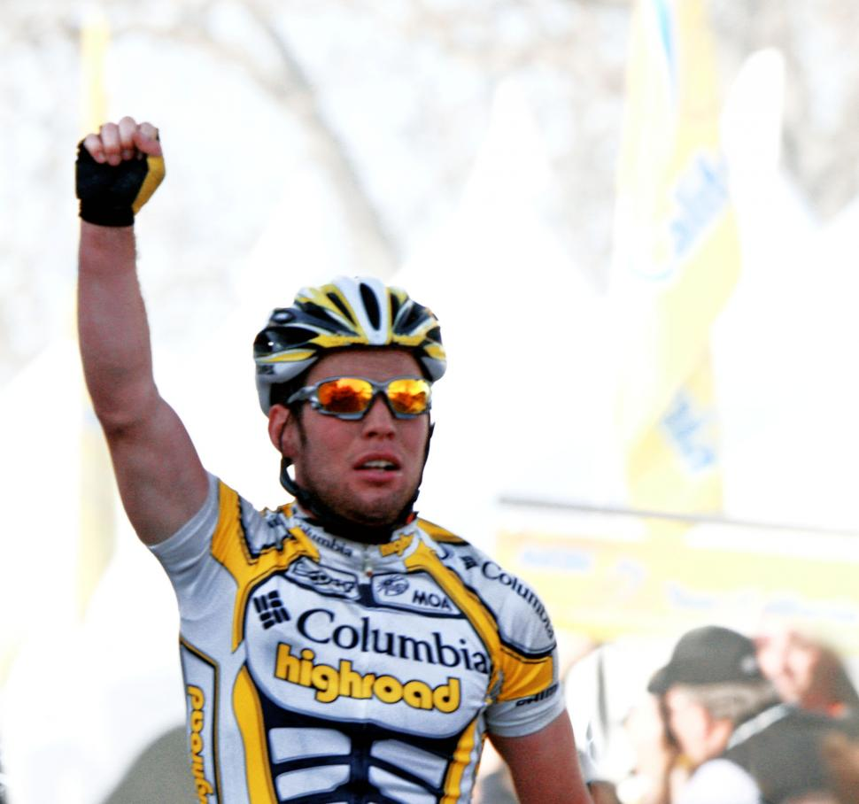 Mark Cavendish wins - pic courtesy Photosport International