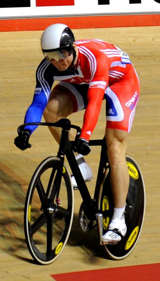 Chris Hoy, World Track Championships 2008 (© johnthescone)