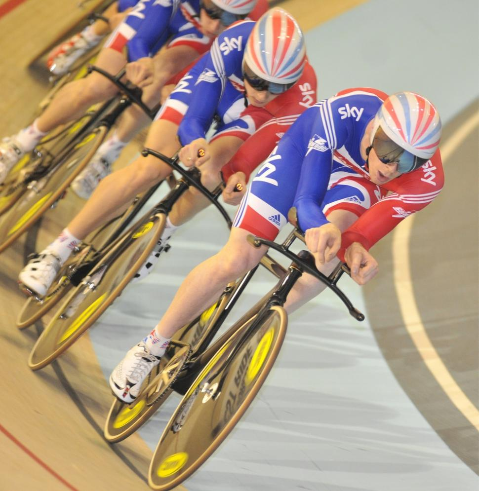 Ed Clancy leads the Team GB team pursuit squad  (copyright britishcycling.org_.uk).jpg