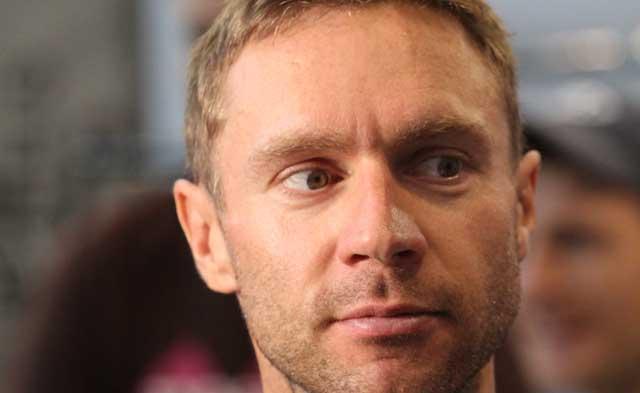 Jens Voigt at Eurobike 2010