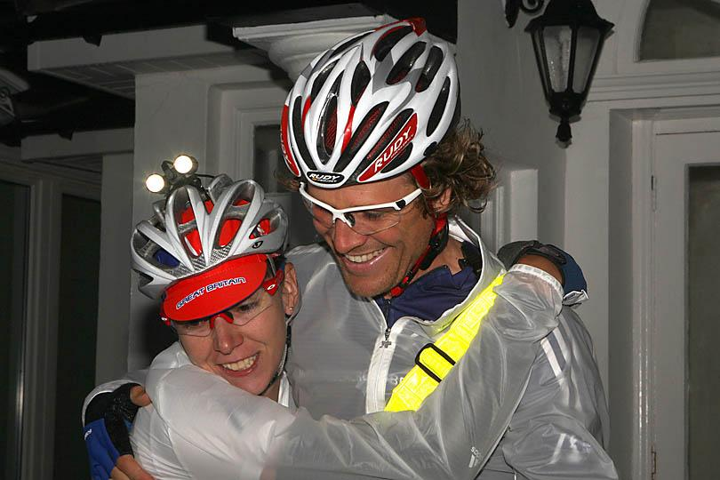 James Cracknell and Rebecca Romero E2E attempt (Phil Monckton/CIOSP)