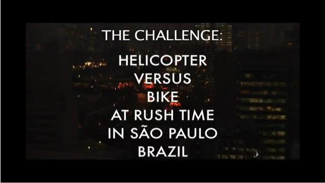 Sao Paolo Inter Modal challenge video opener