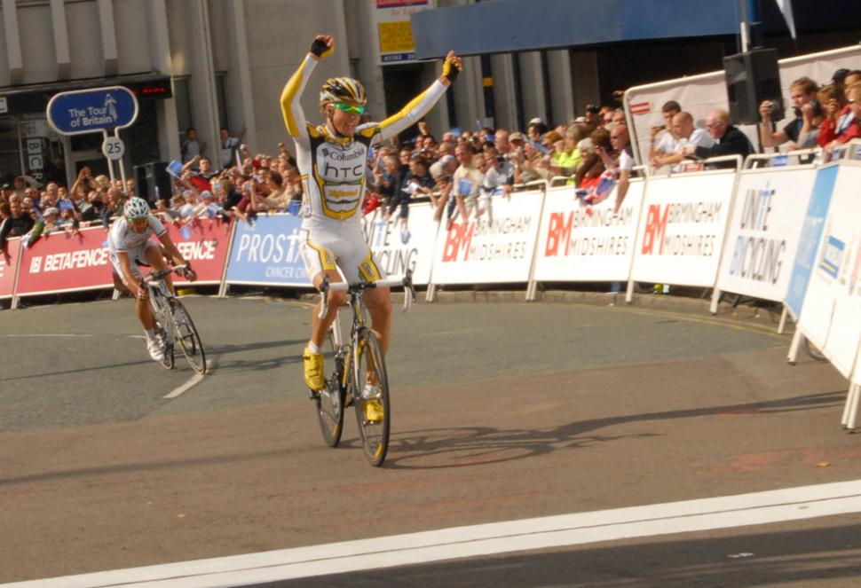 Tour of Britain 2009 Stage 5: Boasson Hagen wins