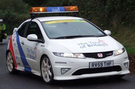 Tour of Britain Honda race car (2)