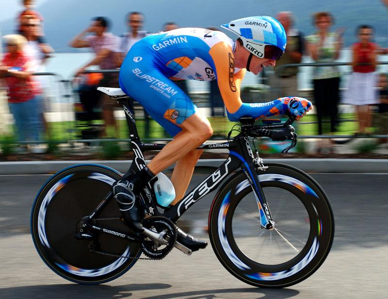 Bradley Wiggins Tour de France TT 2009, Annecy (Photosport Intl)