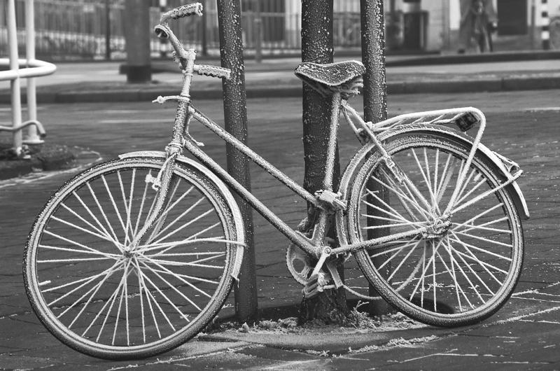 Icy bike