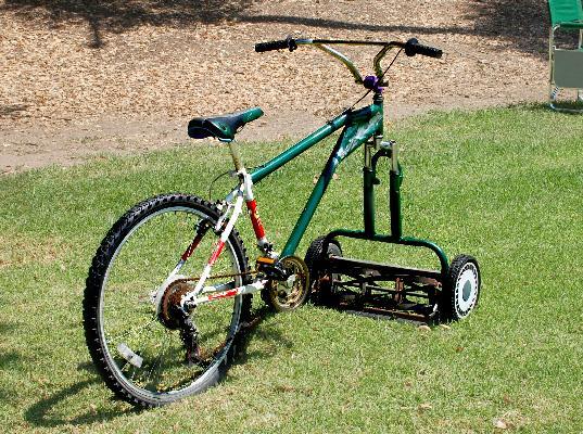 Lawnmower bike