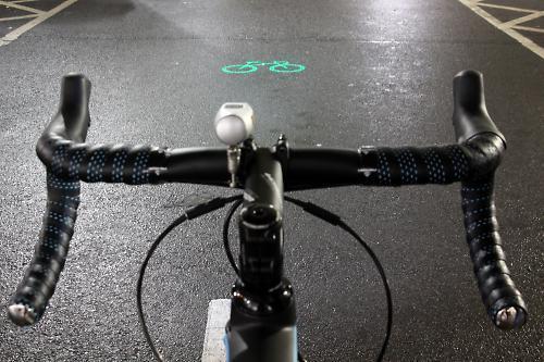 Blaze Laserlight front light - cockpit