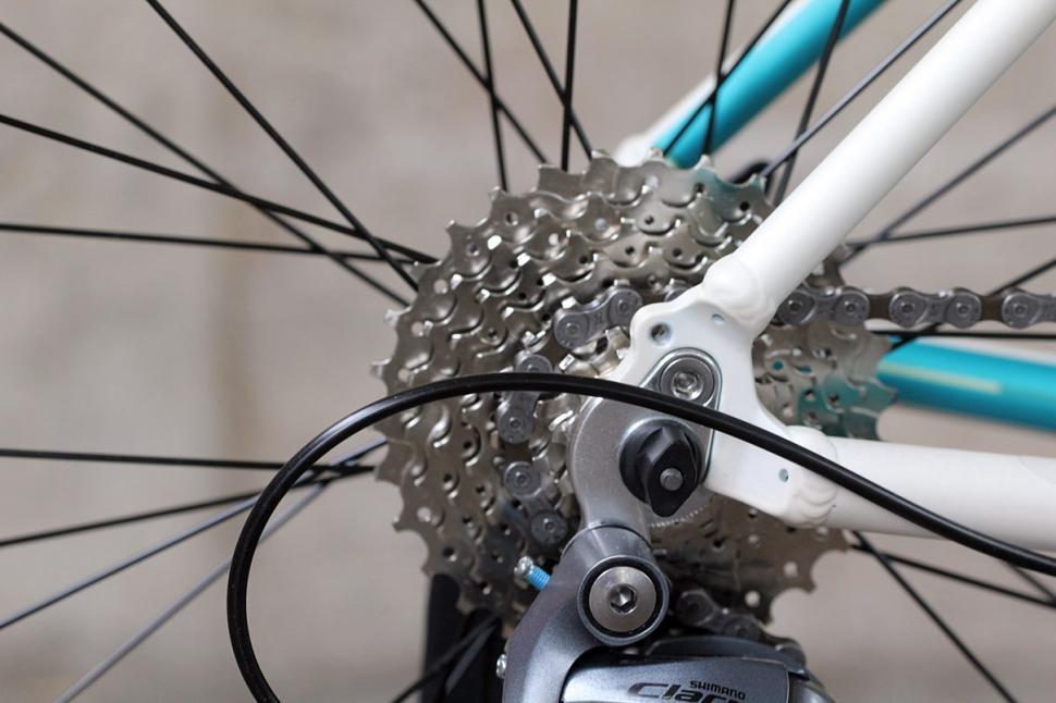 13 Bikes Intrinsic Lambda - rear drop out