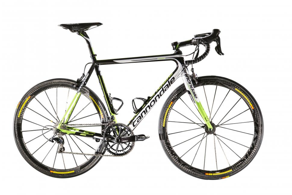b23c6be0540 2015 WorldTour bikes: Cannondale-Garmin's SuperSix Evo and Synapse team  bikes unveiled