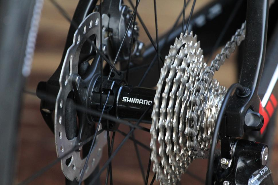 BMC GF01 Disc - rear hub