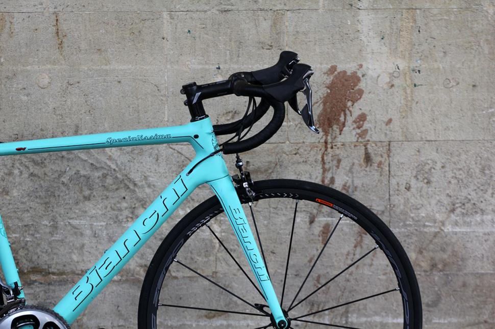 Bianchi Specialissima - front