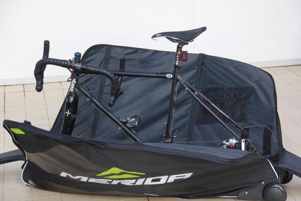 Merida Premium bike bag - bike in frame