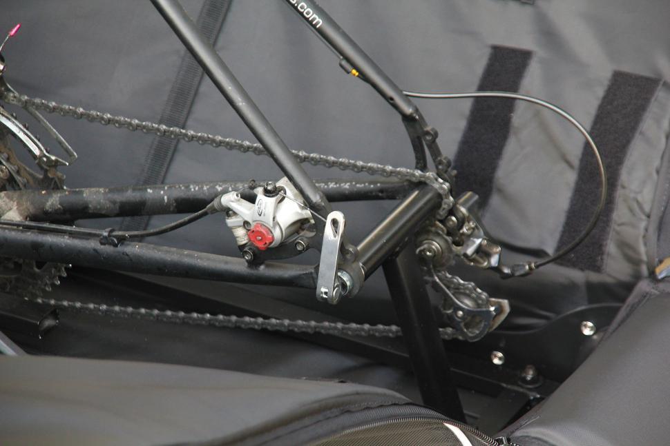 Merida Premium bike bag - dropout