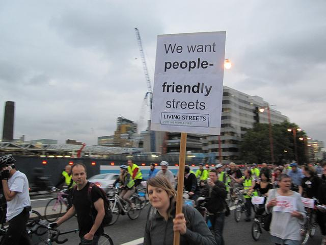 Blackfriars flash ride (© markbikeslondon) 6