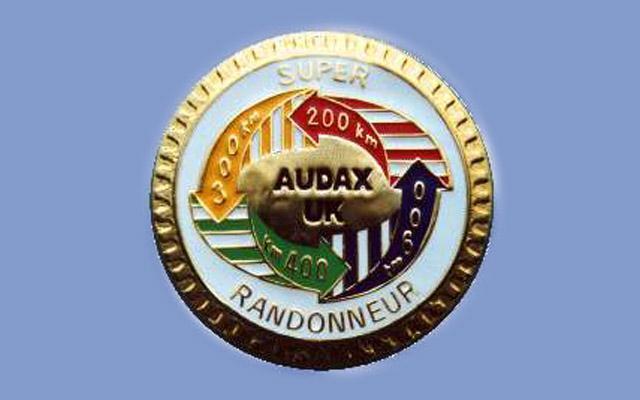 SR Badge (from Audax UK website)