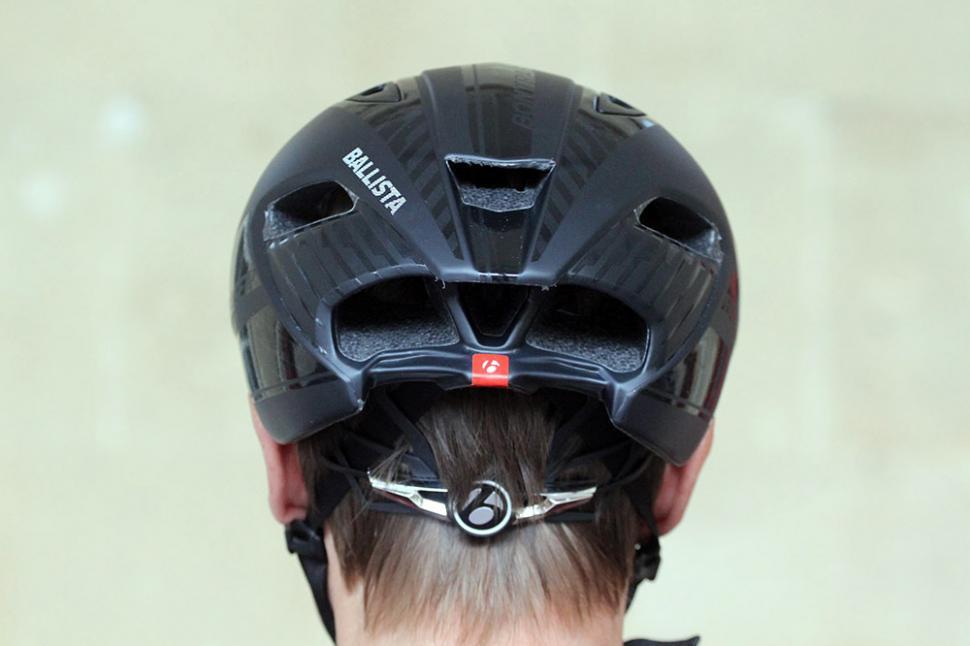 Bontrager Ballista helmet - back