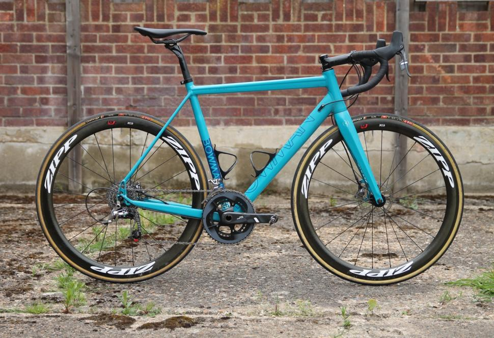 First ride review: Bowman Cycles Pilgrims disc-equipped aluminium ...